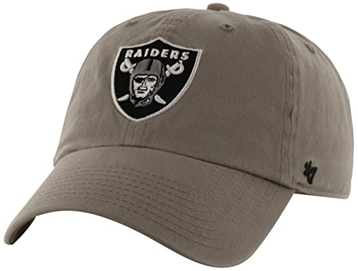 47 Brand NFL Oakland Raiders Clean Up Adjustable Hat b120677d4