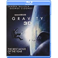 Gravity on 3D + Blu-ray + Ultraviolet