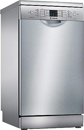 Oferta amazon: Bosch Serie 4 SPS46II07E lavavajilla Independiente 9 cubiertos A++ - Lavavajillas (Independiente, Estrecho (45 cm), Plata, Acero inoxidable, Botones, 1,75 m)