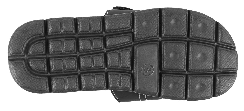 Velcro Adjustable Sport Slide Size 7 to 12 IZOD Mens Memory Foam Sandal