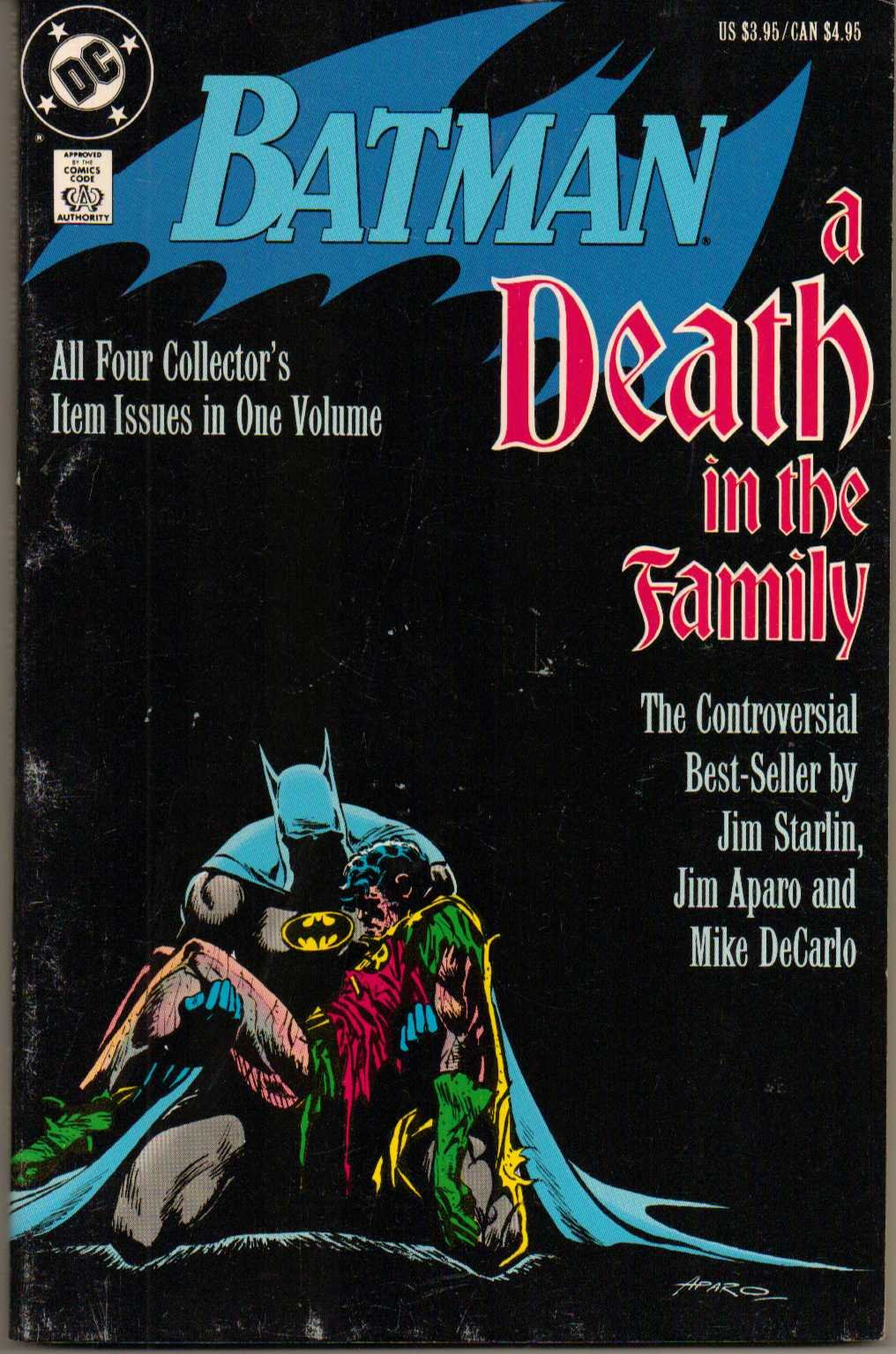 Batman a death in the family dc amazon books fandeluxe Images