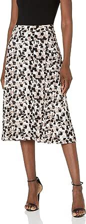 Kasper Womens Printed Ity Skirt Skirt - Pink