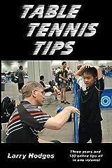 Table Tennis Tips Kindle Edition