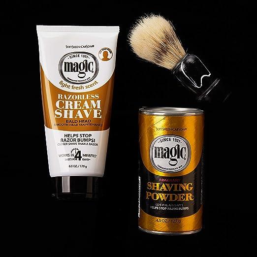 Amazon Com Softsheen Carson Magic Fragrant Shaving Powder 4 5 Oz