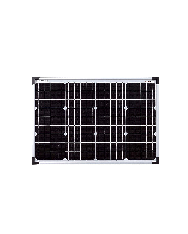 Panel solar monocristalino de enjoysolar®, 24 V, ideal para jardín, caravana