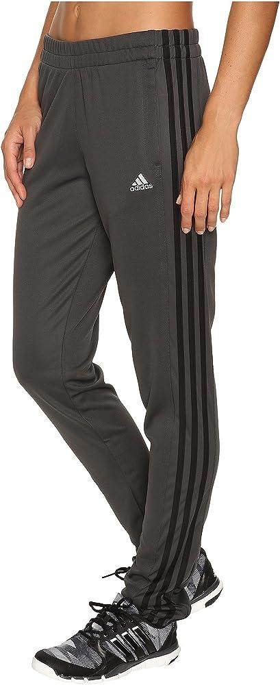 Esmerado Chelín eje  Amazon.com: adidas Women's T10 Pants, Solid Grey/Black, Medium: Clothing