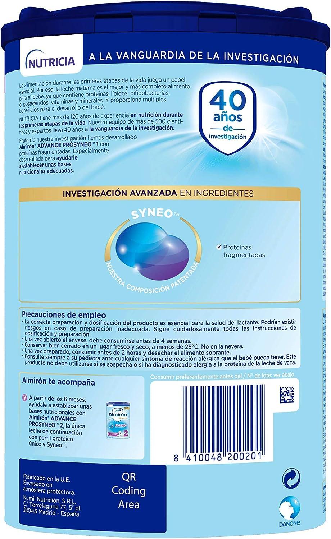 Almirón Prosyneo 1 Leche de inicio en polvo a partir del ...