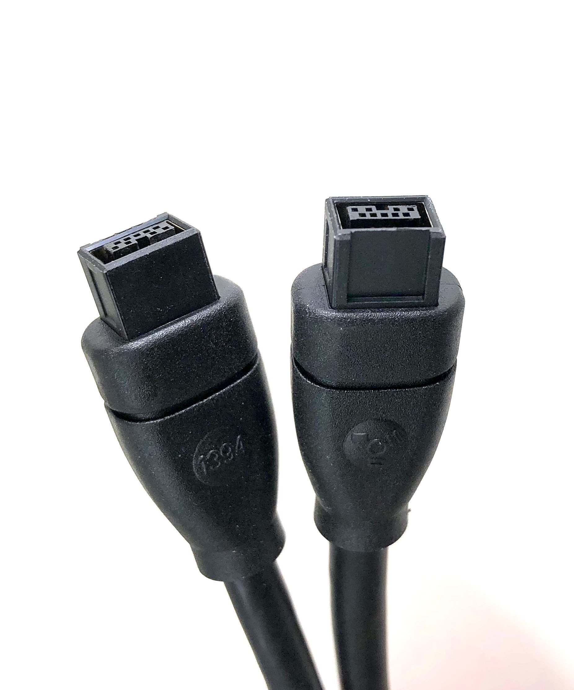 Micro Connectors, Inc. 10 feet Firewire IEEE 1394 9 Pin to 9 Pin Cable (E07-236) by MICRO CONNECTORS