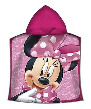 Kids - Poncho Toalla, Diseño Minnie, color rosa, 50 x 100 cm (WD19611M): Amazon.es: Juguetes y juegos