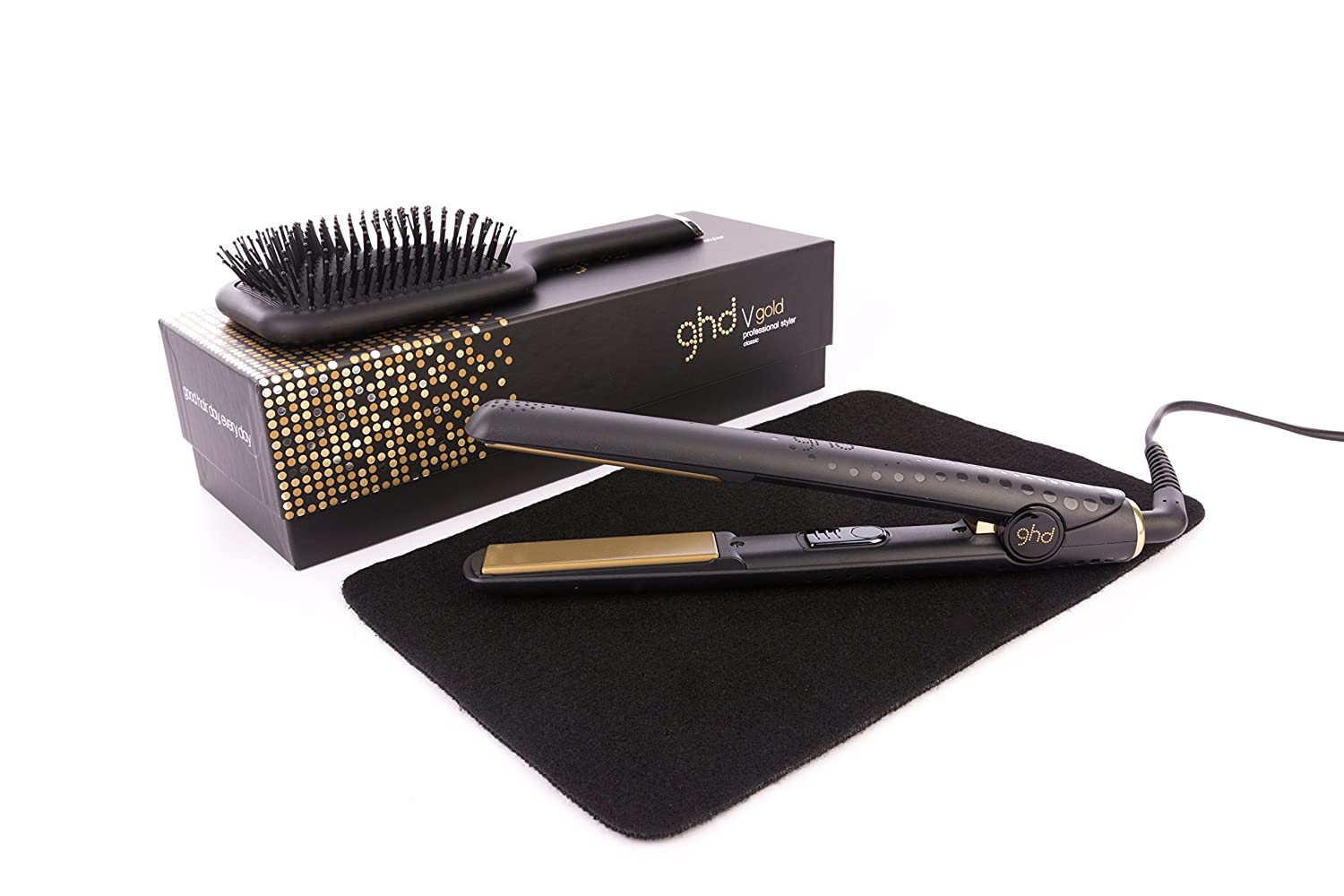 GHD Classic Gold V Styler Mark 5 with Mateque Heat...