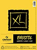 "Canson XL Series Bristol Pad, 9""X12"" Smooth Fold Over"