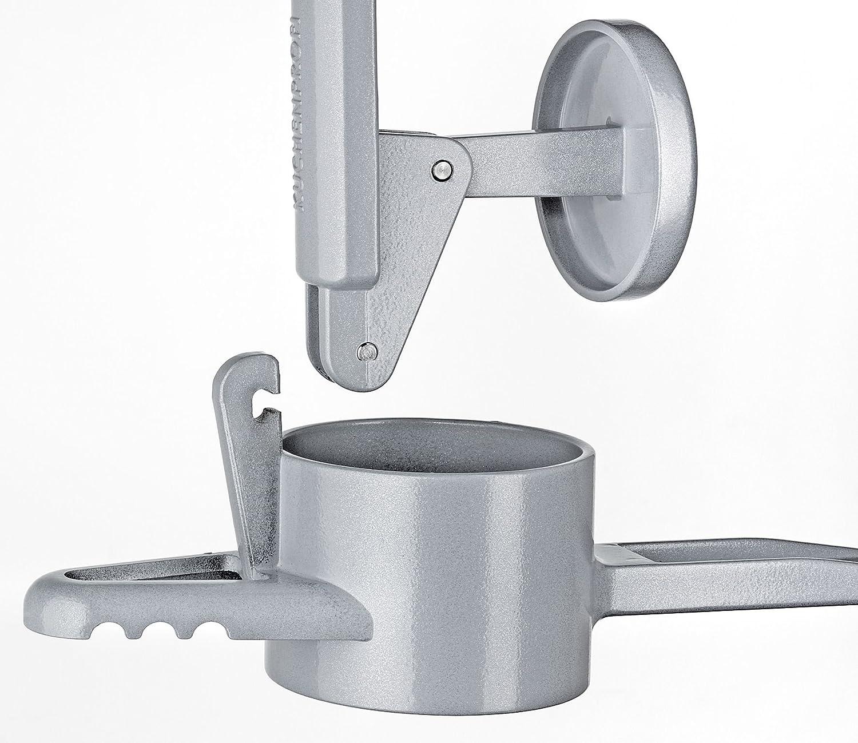 K/üchenprofi 1310753000 Kartoffel-//Sp/ätzlepresse Sp/ätzleboy silber Aluminiumguss 10,2 x 16,4 x 42,2 cm