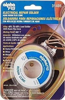 Alpha Fry AT-31604 60-40 Rosin Core Solder (4 Ounces) - - Amazon com