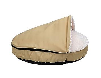 Amazon.com: happycare textiles mascota cueva y redonda para ...