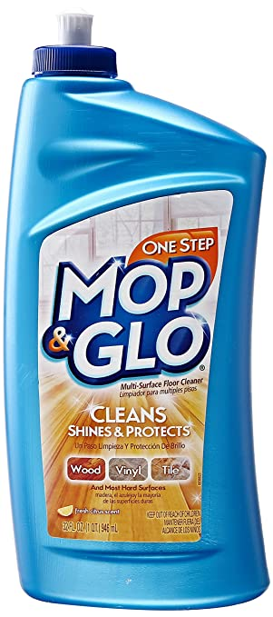Amazoncom Mop Glo MultiSurface Floor Cleaner Oz Health - How to remove mop and glo from hardwood floors