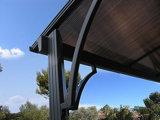Grasekamp Repuesto Techo Terraza Techo Hard Top pérgola 3 x 3,6 m Doble Puente Placas policarbonato CarPort: Amazon.es: Juguetes y juegos