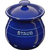 Porta Alho, Cerâmica, Azul Marinho, 11 cm, STAUB