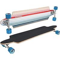 HUDORA Longboard Cardiff Reef, blau - ABEC 7 - Skateboard - 12803
