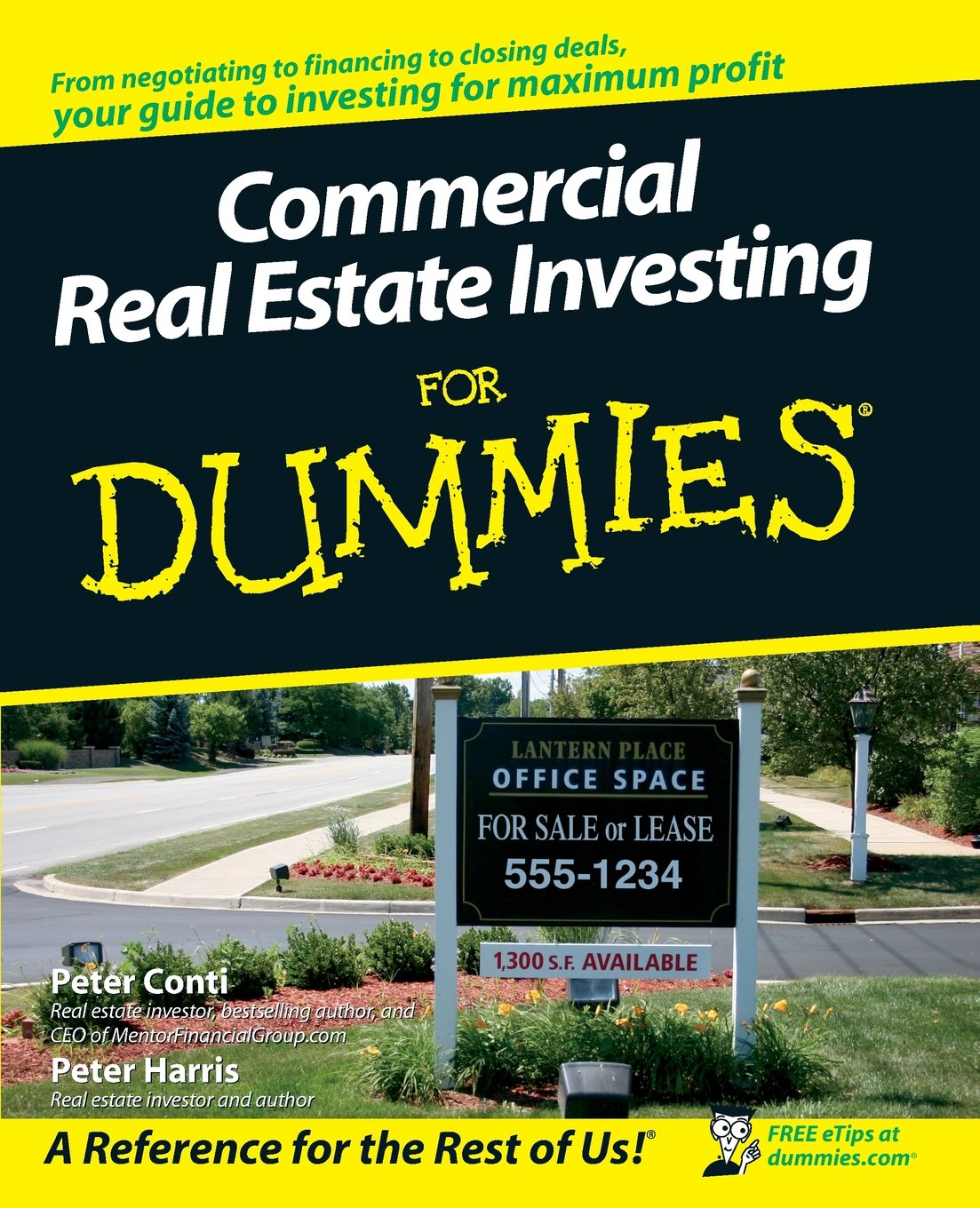 Commercial real estate investing for dummies peter conti peter commercial real estate investing for dummies peter conti peter harris 9780470174913 amazon books magicingreecefo Images