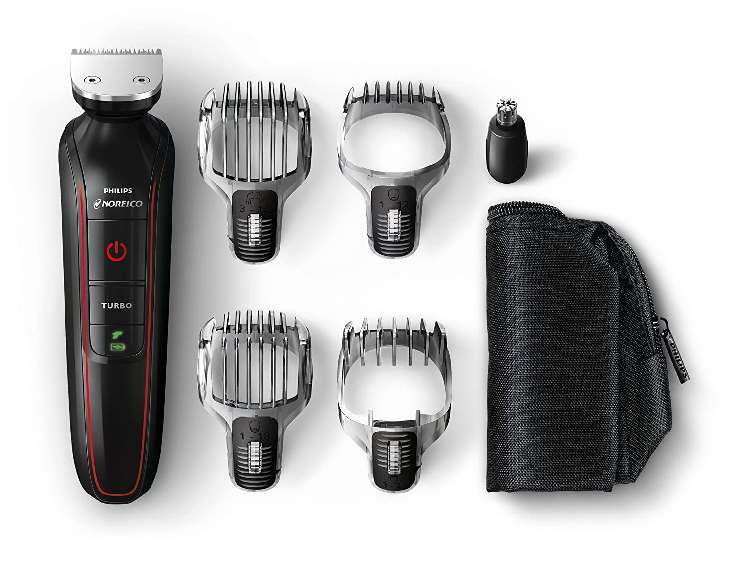 beard stubble hair nose and body trimmer norelco philips new ebay. Black Bedroom Furniture Sets. Home Design Ideas