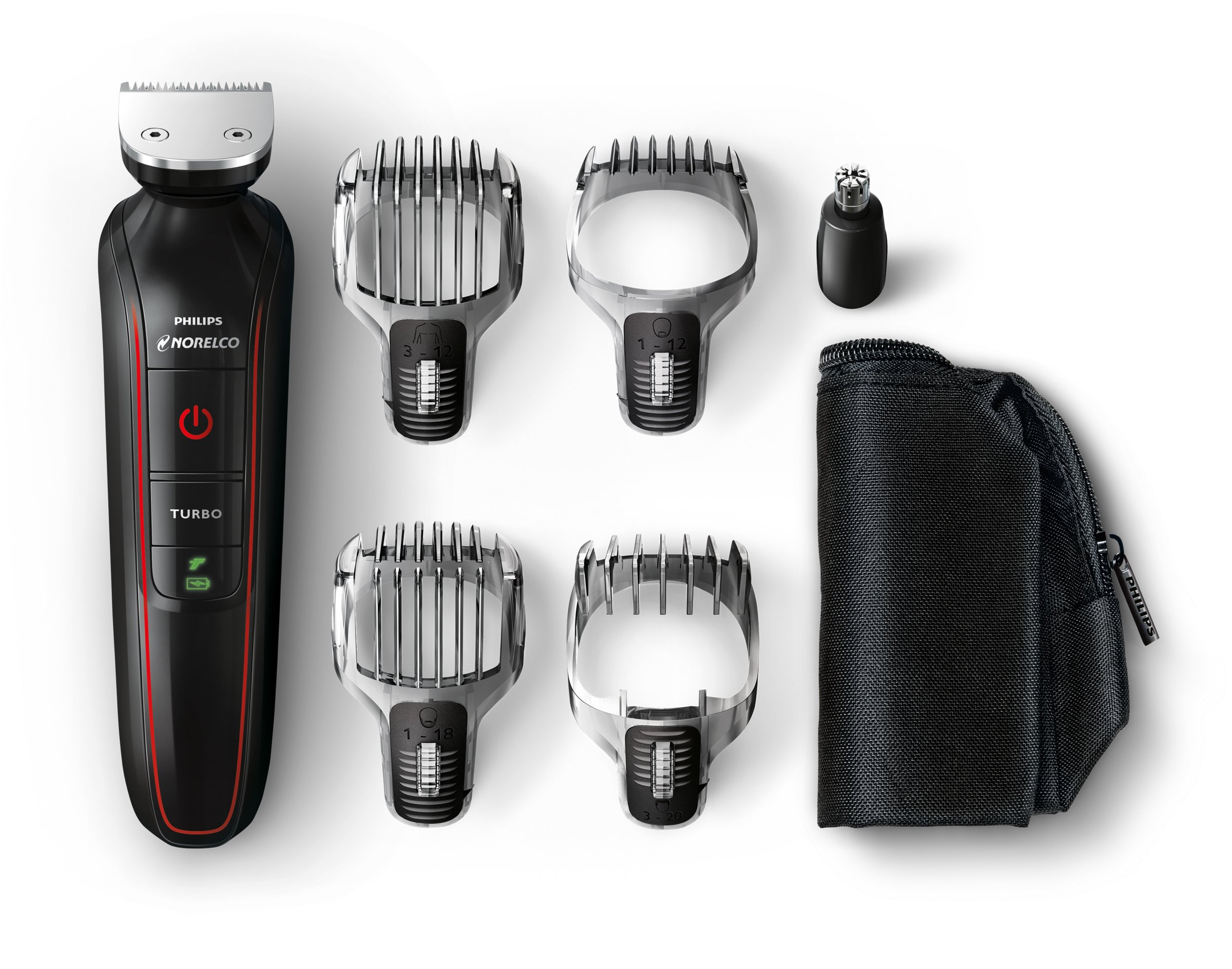 Norelco QG3372/41 Philips Multigroom Beard, Stubble, Hair, Nose and Body Trimmer by Philips Norelco