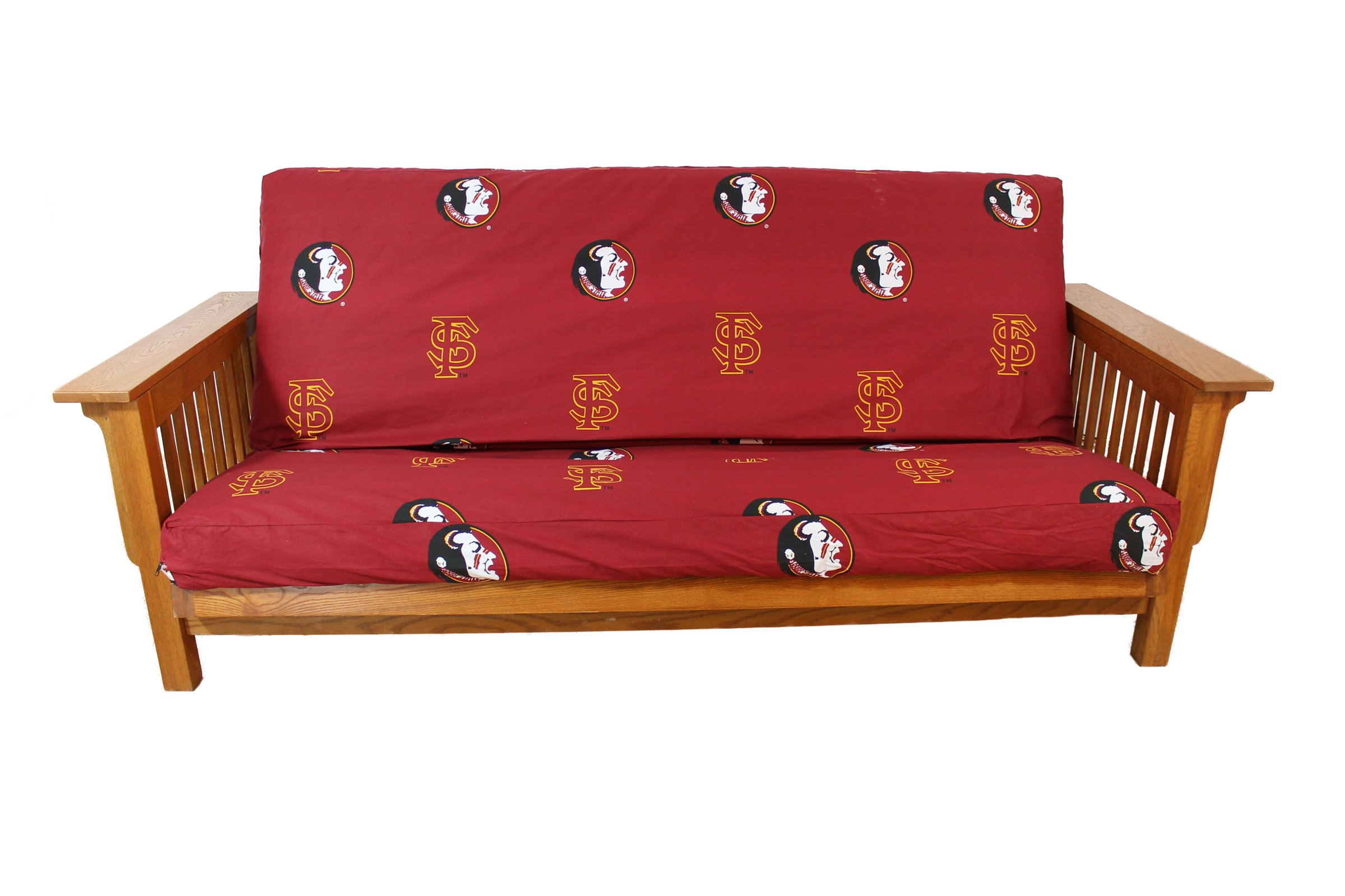 College Covers Florida State Seminoles Futon Cover - Full size fits 6 and 8 inch mats