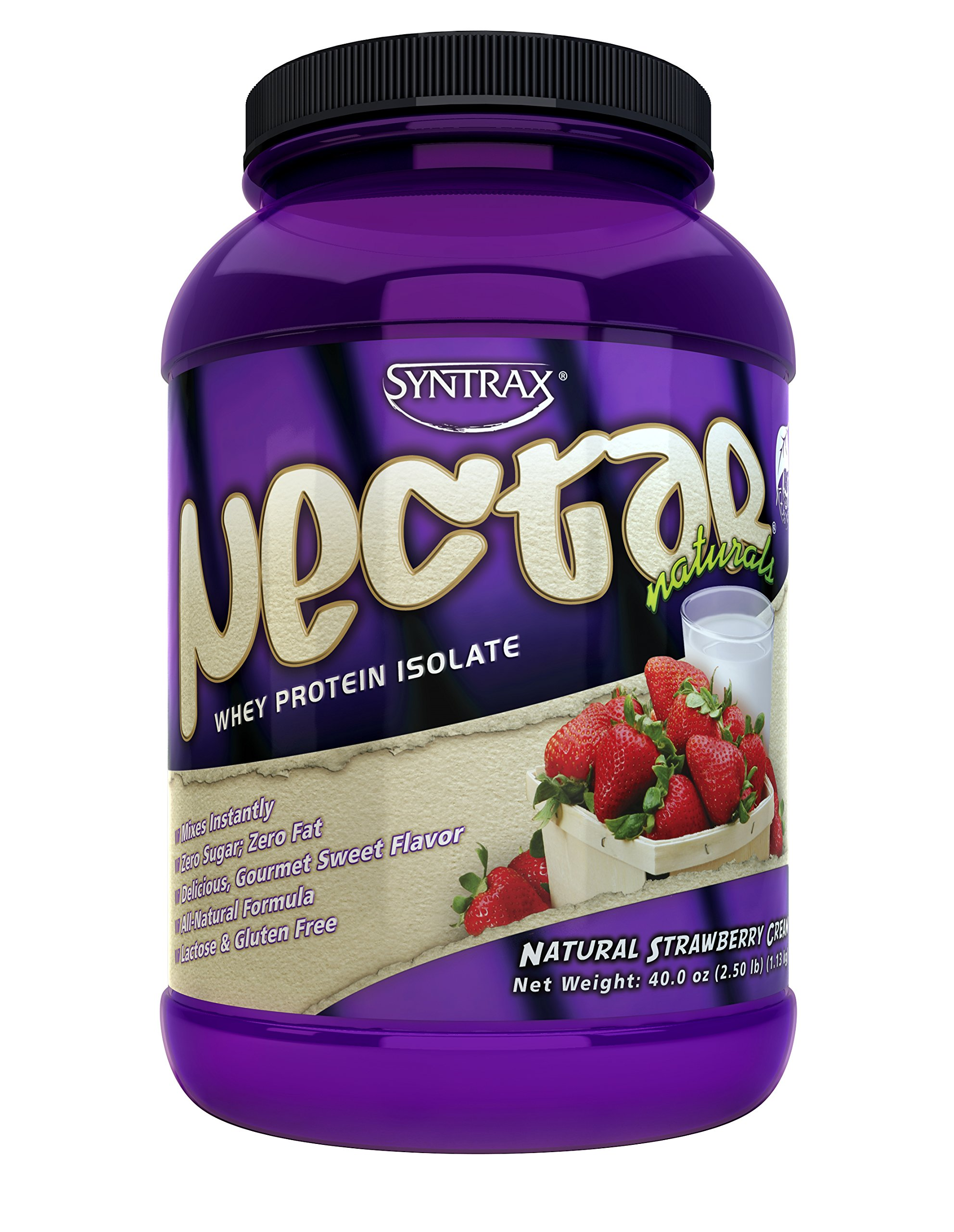 Nectar Naturals, Natural Strawberry Cream, 2.5 Pounds