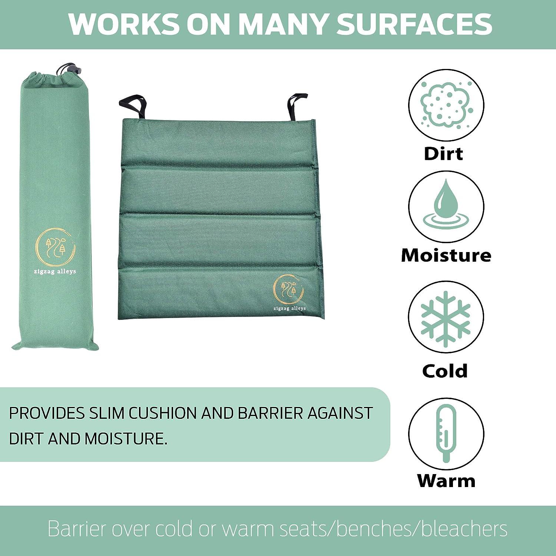 Folding seat Cushion zigzag alleys Camping Foam pad Foldable Slim Foam seat pad