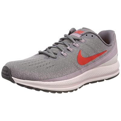 Nike Womens Air Zoom Vomero Mesh Lace-Up Running Shoes | Road Running