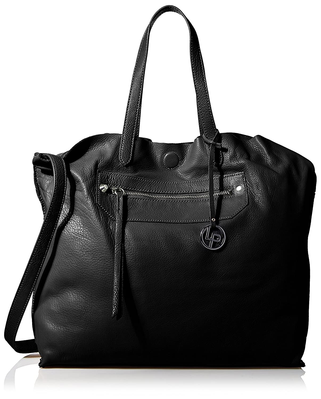 091b4bd62fa Amazon.com: LP by linea pelle Women's Sienna Tote Bag, Black: Shoes