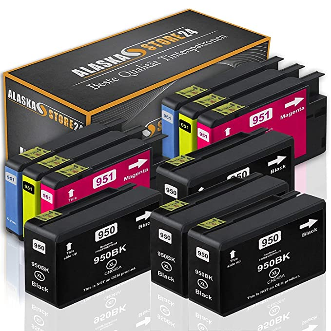 10x Cartuchos de Tinta compatibles HP 950 951 para HP officejet ...