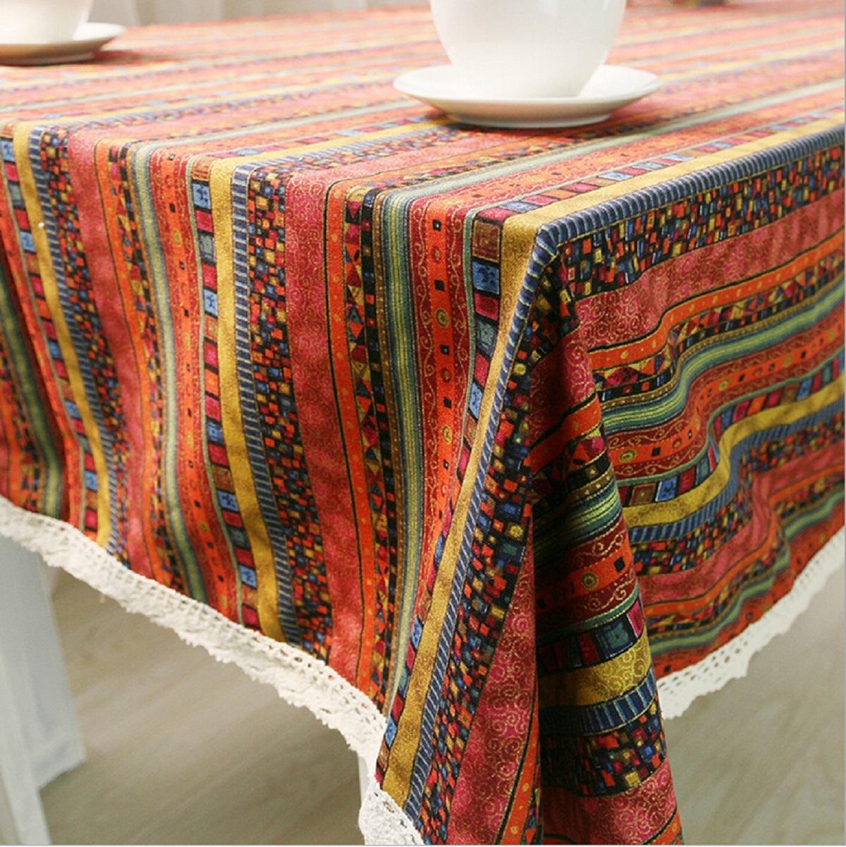 GAOJIAN Tovaglie rettangolari in Pizzo per la tavola da Nozze, 140  180cm, a