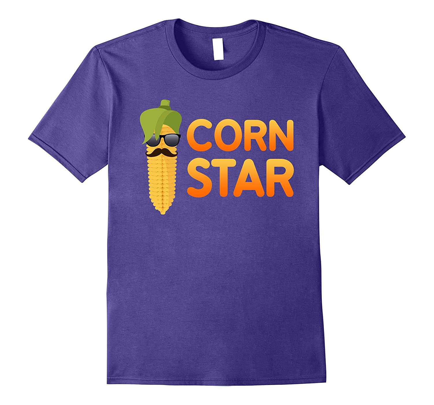 Corn Star T-Shirt Funny Corn Farmer Tee-BN