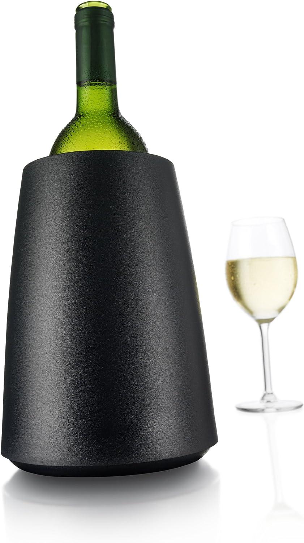 Vacu Vin 3649460 Cubitera/enfriador, plástico, Negro: Amazon.es: Hogar