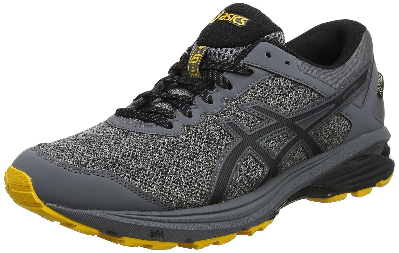 Asics Gt-1000 6 G-TX, Zapatillas de Running para Hombre 42 EU|Gris (Carbon/Black/Gold Fusion 9790)