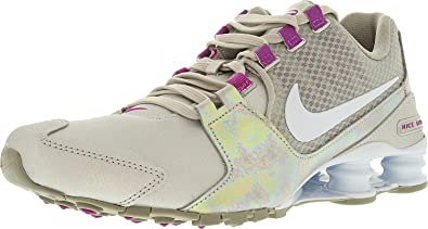 Nike W Avenue SE Shox, Zapatos Corrientes, Metálico SIL/Tinte Azul-Violeta Hyper, 7,5 M de EE.UU. 5.5 Reino Unido Plata metálica/Violeta Tinte ...
