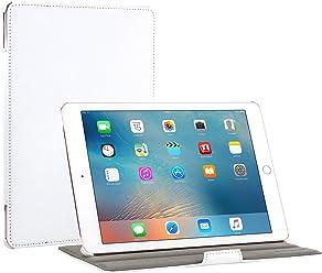 """StilGut UltraSlim, Housse V2 avec Fonction Support pour iPad Pro 9.7""""(2016), en Blanc"""