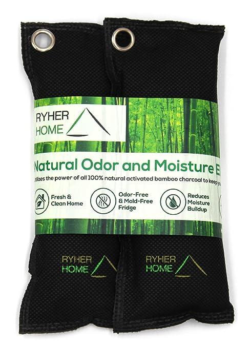 34 opinioni per Ryher 2x Deodorante per Scarpe in Bamboo 100% Naturale- Impedisce Creazione di