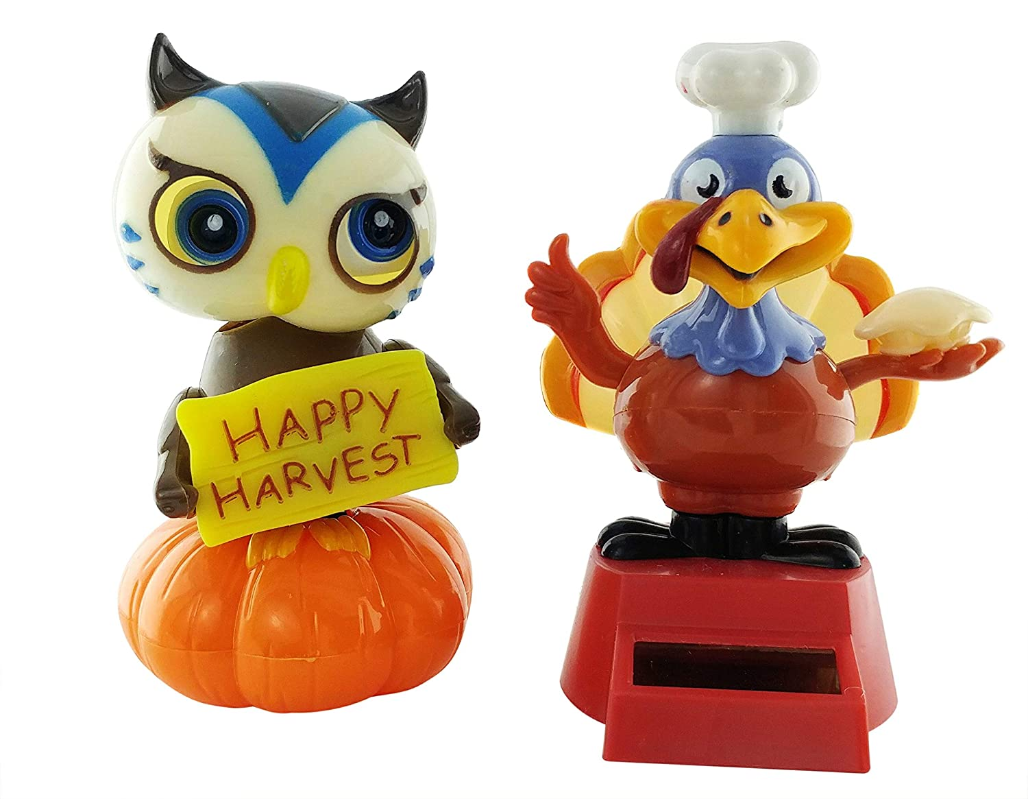 Happy Harvest Free Shipping Dancing Owl Solar Powered Dancing Owl
