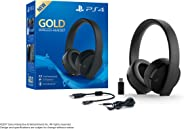 Headset Sem Fio Sério Ouro - Preto - Playstation 4