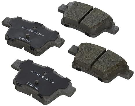 Disc Brake Pad Set-Ceramic Disc Brake Pad Rear ACDelco Advantage 14D1377CH