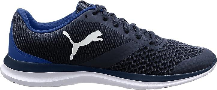 Puma Flext1, Zapatillas Unisex Adulto, Azul (Peacoat White 02), 44 EU: Amazon.es: Zapatos y complementos