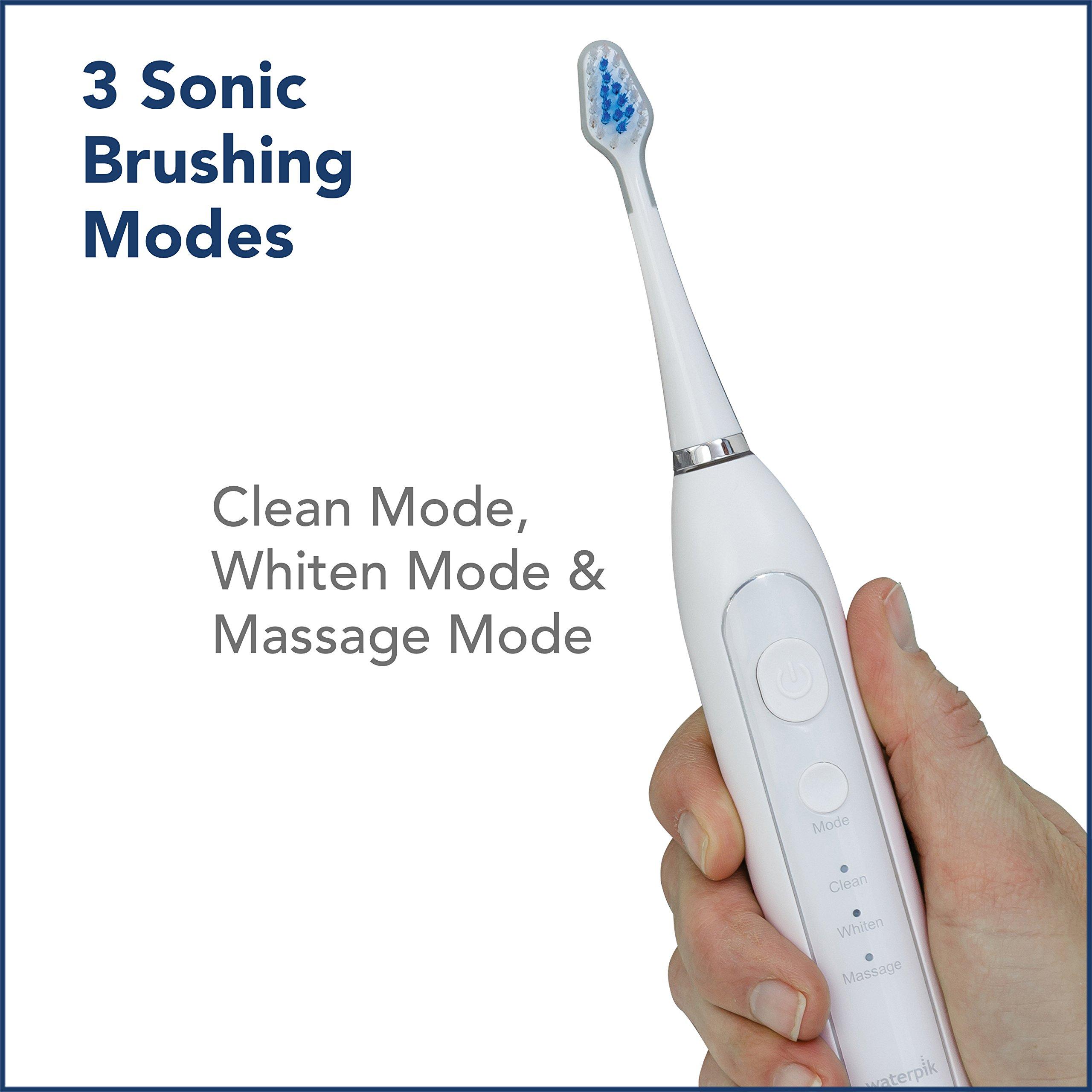 Waterpik Complete Care 9.0 Sonic Electric Toothbrush + Water Flosser, White by Waterpik (Image #8)