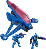 Megabloks 97202 Halo - Figura de Blue Banshee