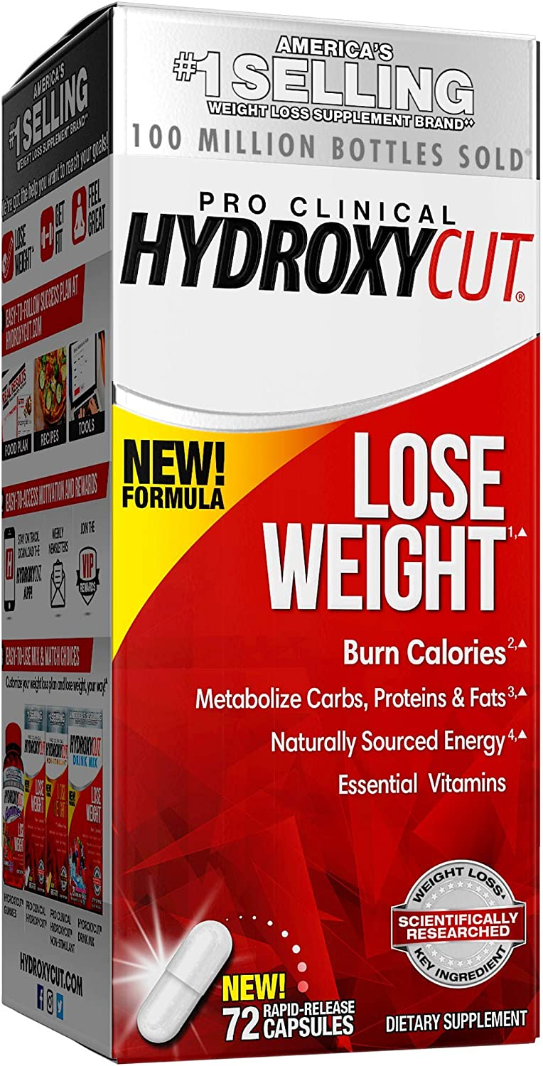 how much weight loss hydroxycut