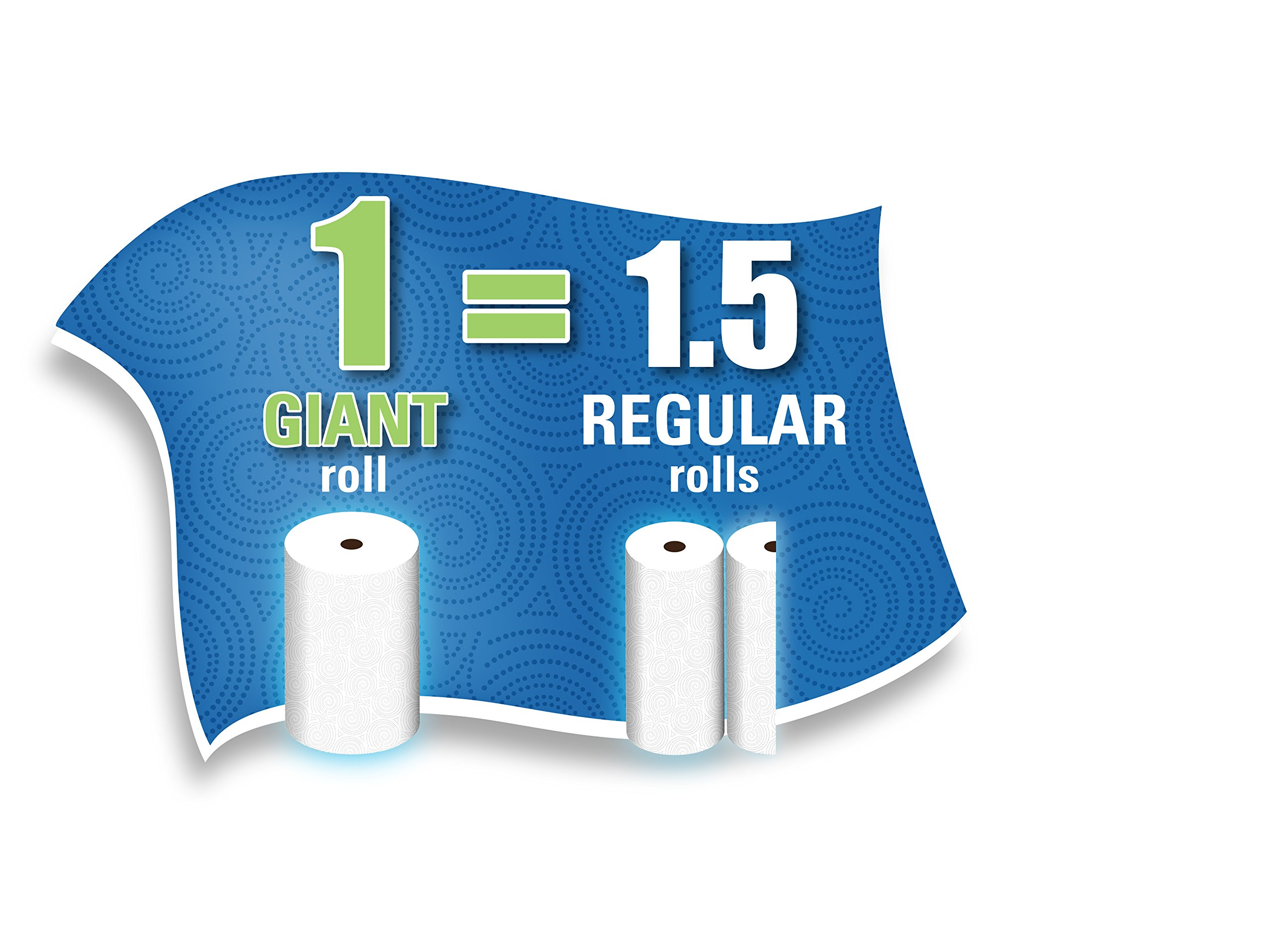 Sparkle Paper Towels, 24 Giant Rolls, Pick-A-Size, Spirited Prints