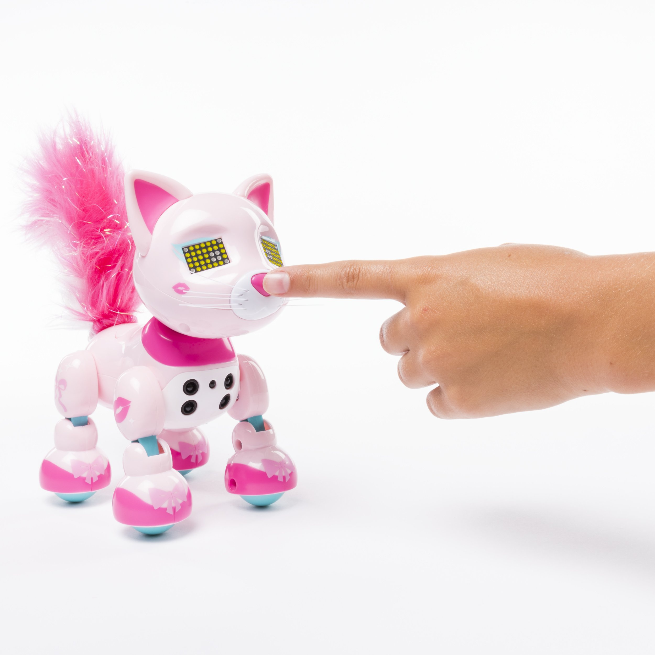 Zoomer Meowzies, Chic, Interactive Kitten with Lights, Sounds and Sensors by Zoomer (Image #5)