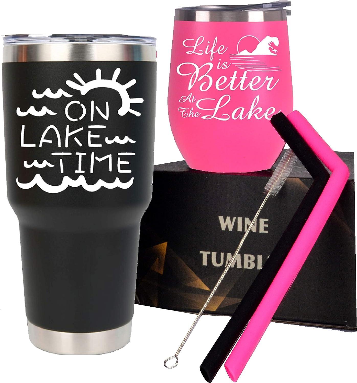 Lake House Tumblers, Lake Life Mugs, Lake Life Tumbler Cup, Lake Tumbler Set, Life is Better at the Lake Tumbler, On Lake Time Tumbler, Lake Days Cup, Lake Time Tumbler, Lake Life Tumbler Cup