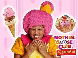 Helado y sabores para bebés de preescolar y niños! Chocolate, fresa y vainilla!