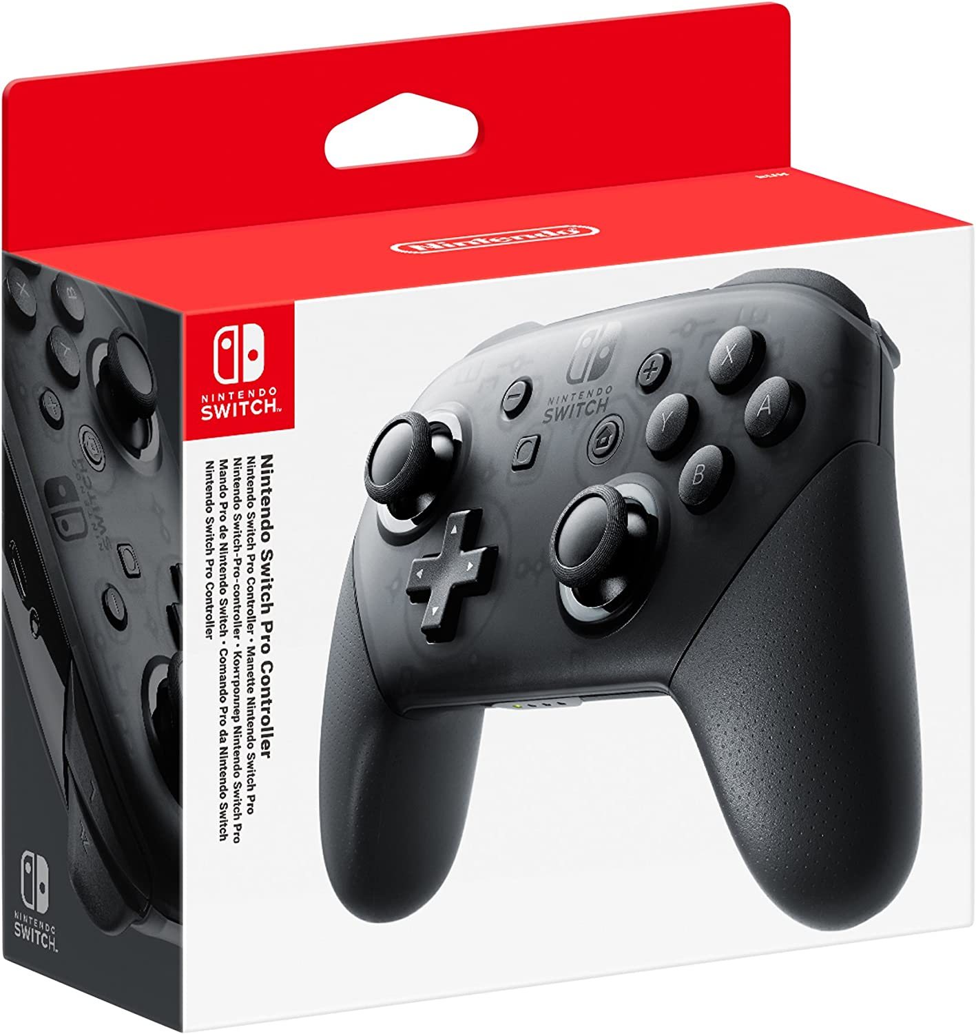 Nintendo Switch Pro-Controller + cable USB: Amazon.es: Videojuegos
